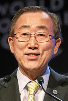 Ban Ki-moon: 1. Jänner 2007 – 31. Dezember 2016. (Foto: World Economic Forum, CC BY-SA 2.0)