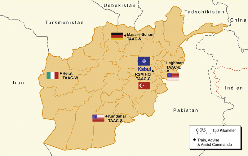 Karte Afghanistan Provinzen.Train Advise Assist Quo Vadis Afghanistan Truppendienst