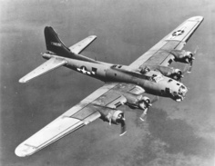 B-17 Flying Fortress: schwerer Bomber. (Foto: U.S. Air Force)
