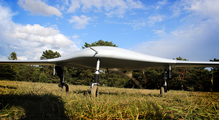 UAV MANTA ready to fly.