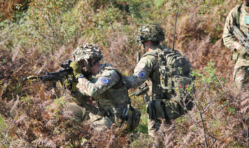 British soldiers during QR16. (Photo: EUFOR/Weiss)