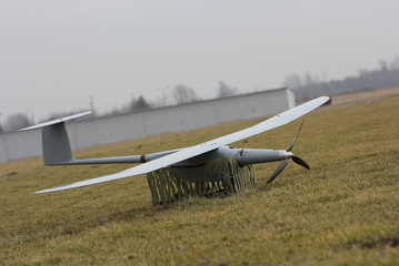 Polish UAV FleyEye grounded.