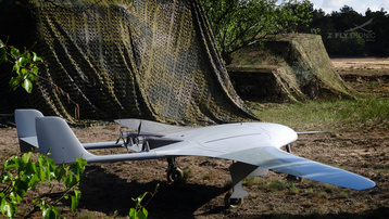 UAV MANTA in the field.