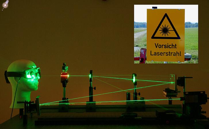 Vorsicht laserstrahlung truppendienst