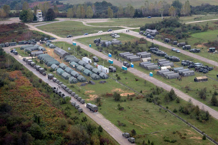 A field camp of QUICK RESPONSE 2016. (Photo: EUFOR)